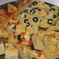 Herb Cheese Mini Foccacia