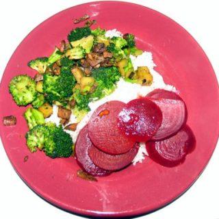 Sauteed Broccoli with Mushrooms