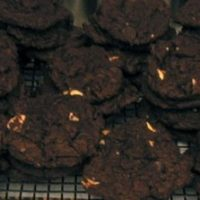 Triple Chocolate Chunk Chocolate Cookies