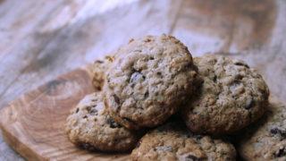 Oatmeal Raisin Chocolate Chip Cookies | Egg-Free Cookies