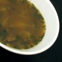 Portabella and White Bean Soup