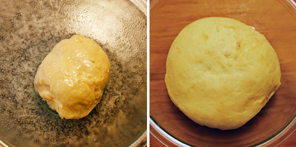 Rising Pizza Dough