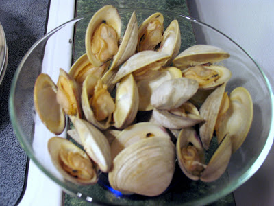 Beer Steamed Clams