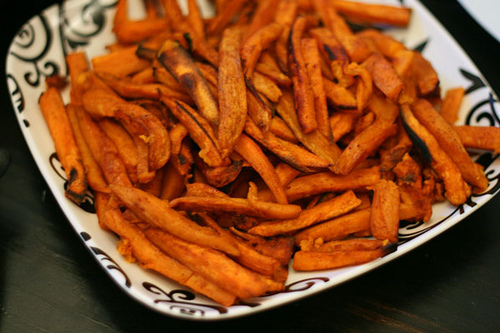 Oven Baked Sweet Potato Fries How To Make Sweet Potato Fries