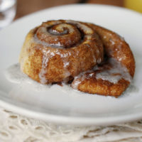 Extra Easy Cinnamon Rolls with Vanilla Bean Glaze