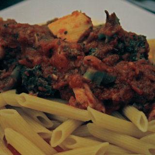 Pasta with Chicken and Broccoli Ragu