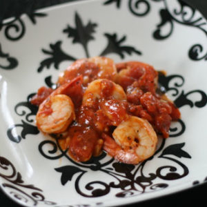 Spicy Tomato Shrimp Recipe