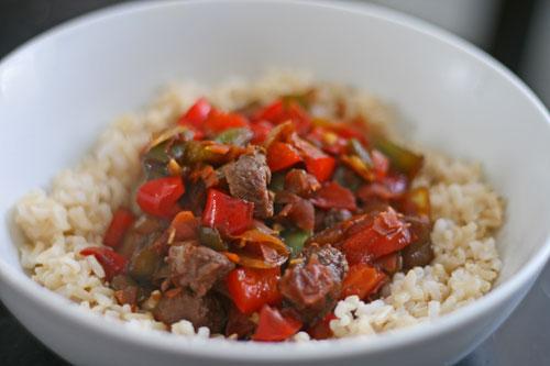Garlic Soy Beef Stir-Fry