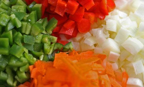 Vegetables for Garlic Soy Beef Stir-Fry
