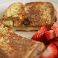 French Toasted Apple Grilled Cheese
