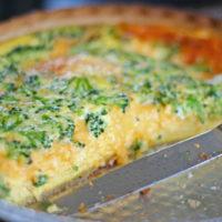 Easy Broccoli Quiche