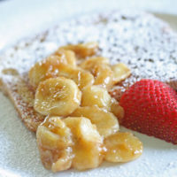 Caramelized Bananas for French Toast