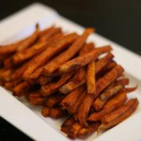 Chipotle Cinnamon Sweet Potato Fries