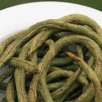 Grilled Pole Beans Recipe
