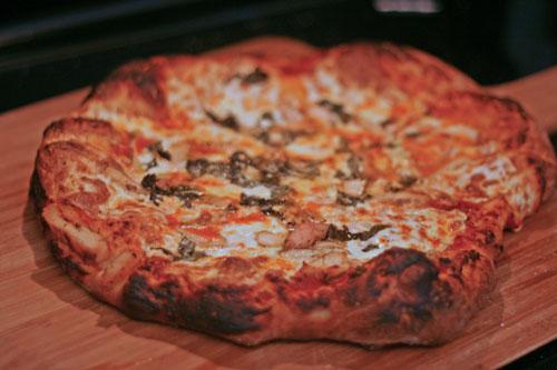 Chicken Basil Pizza