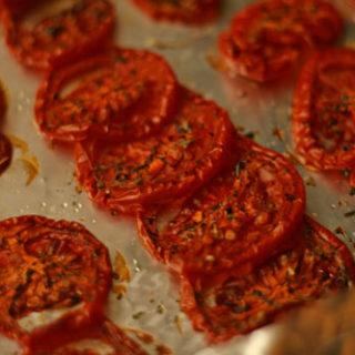 Slow-Roasted Plum Tomatoes