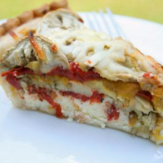 Tomato and Eggplant Pie Recipe