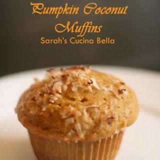 Pumpkin Coconut Muffins Recipe