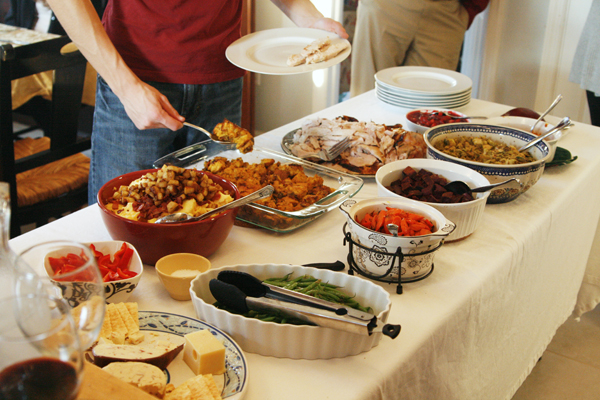 2012 Thanksgiving Spread