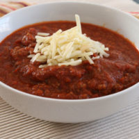 Meat-Lovers Chipotle Chili Recipe