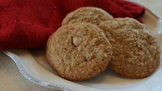 Steel Cut Oatmeal Scotchies Cookies Recipe