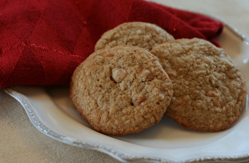 Steel Cut Oatmeal Scotchies Cookies Recipe