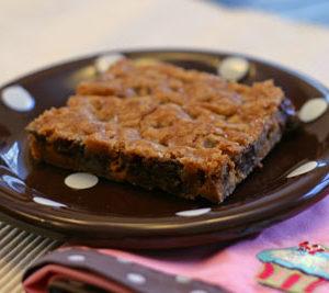 Chocolate Butterscotch Cookie Bars Recipe