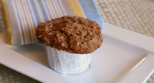 Whole Wheat Applesauce Graham Muffins