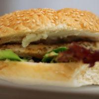 Chicken Souvlaki Sandwich