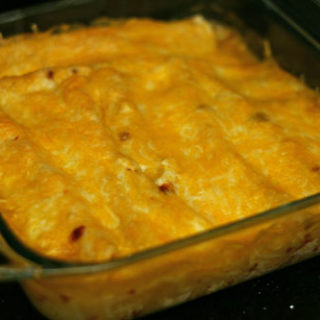 Lighter Chicken Enchiladas