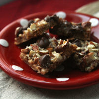 Salted Toffee Chocolate Squares Recipe