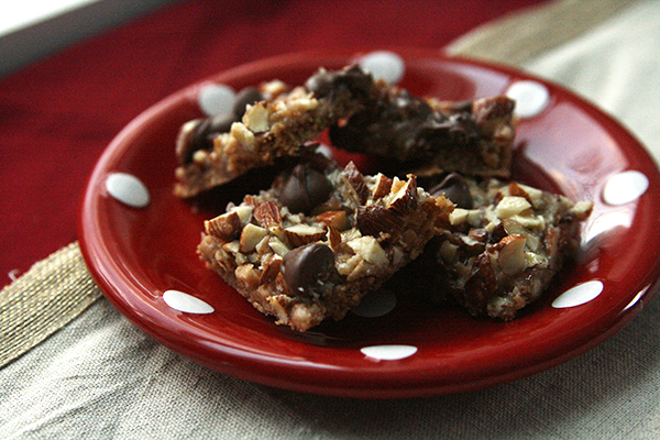 Salted Toffee Chocolate Squares Recipe - Sarah's Cucina Bella