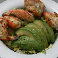 Grilled Shrimp and Avocado Salad with Asian Vinaigrette Recipe