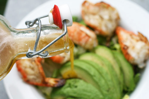 Grilled Shrimp and Avocado Salad Recipe