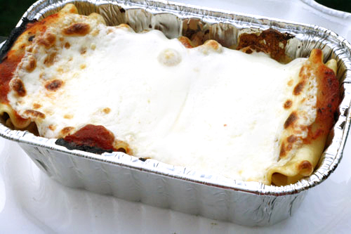 Grilled Sausage Lasagna Recipe