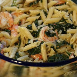 Creamy Gorgonzola and Shrimp Pasta Recipe