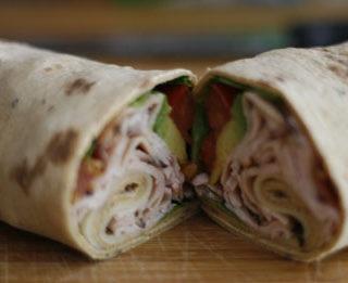 California Turkey Club Wrap Recipe