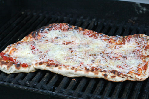 Grilled Nacho Pizza Recipe