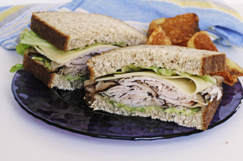 A Great Turkey Sandwich