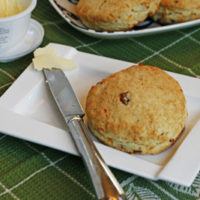 Cheddar Bacon Cream Biscuits