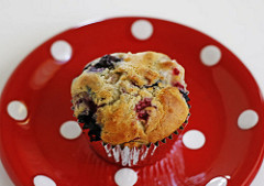Apple Berry Muffins Recipe