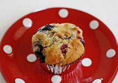 Apple Berry Muffins Recipe