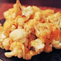 Easy Roasted Cheddar-y Cauliflower
