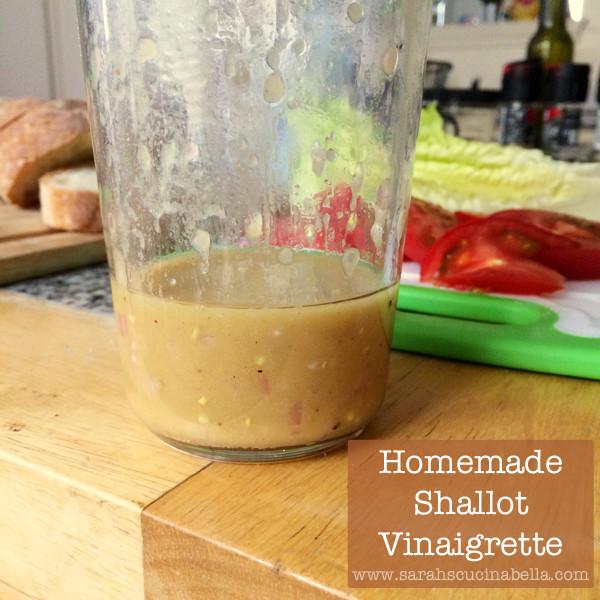 Homemade Shallot Vinaigrette