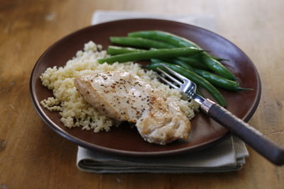 Quick and Easy Salt and Pepper Chicken Breasts