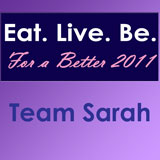 Eat. Live. Be. For a Better 2011: Goals
