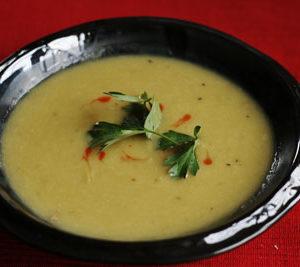 Super Easy Potato Leek Soup