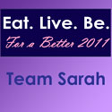 Eat. Live. Be. For a Better 2011: Compliments