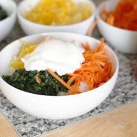 Korean-Inspired Rice Bowl (A Bi Bim Bap Wanna-Be Dish)