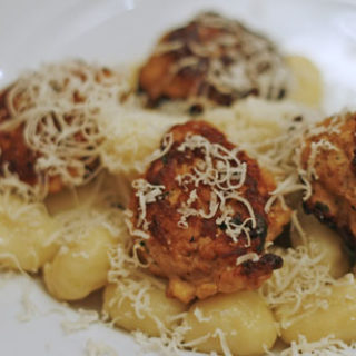Almost Ethereal Chicken Meatballs